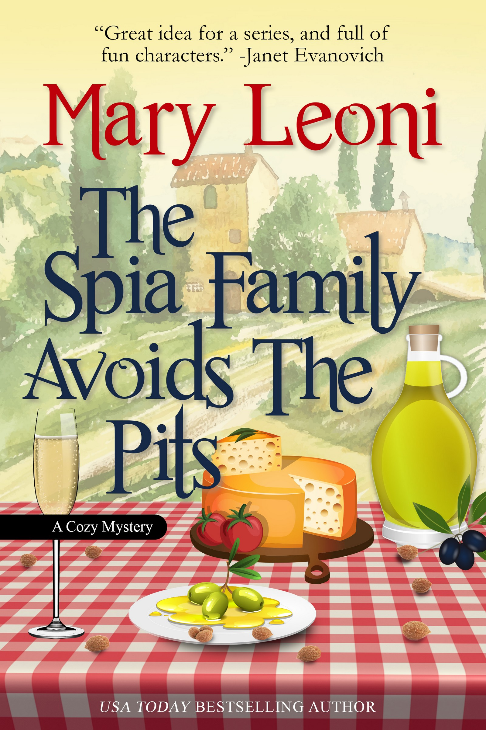 The Spia Family Avoids the Pits humorous cozy mystery