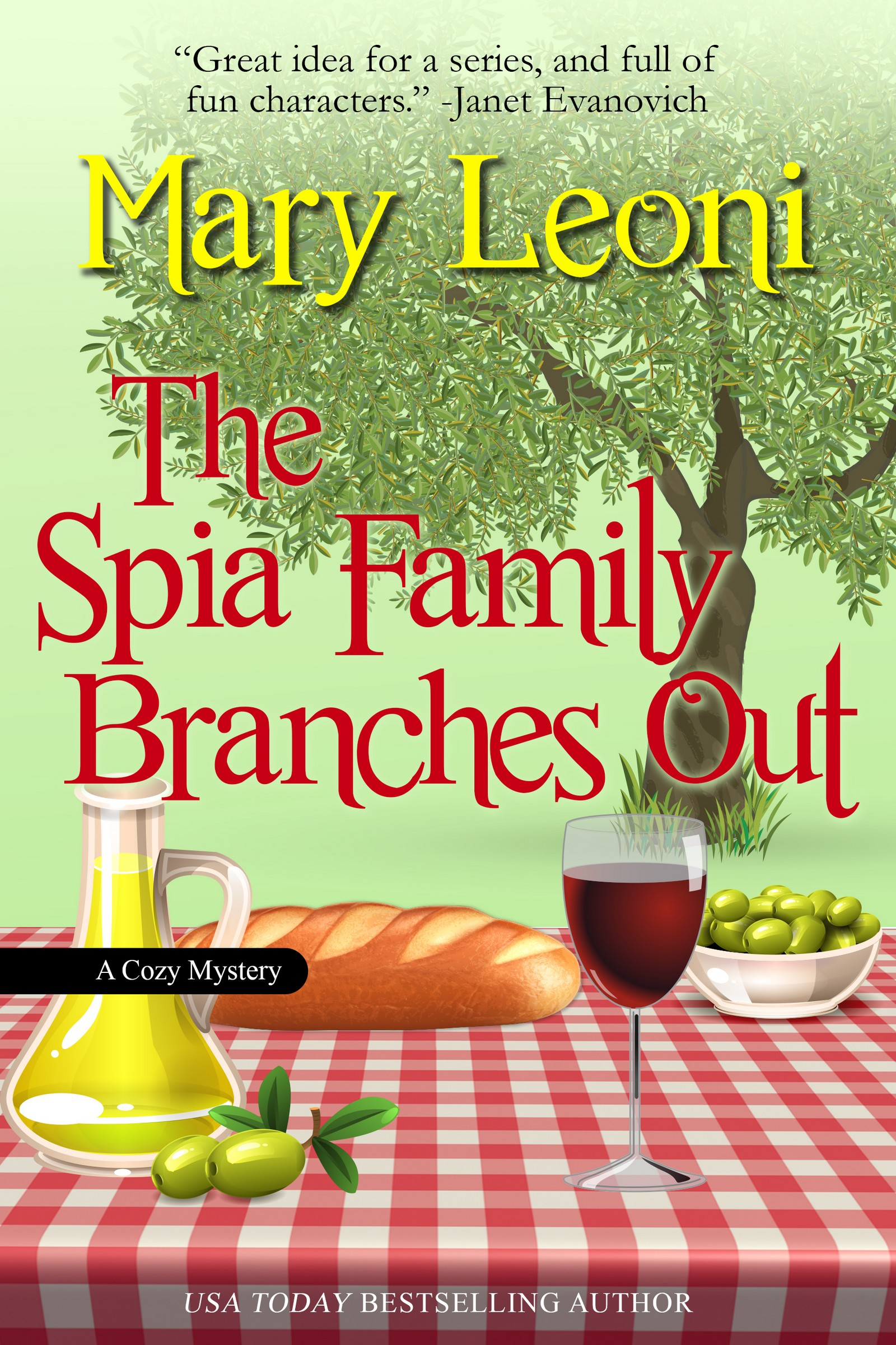 The Spia Family Branches Out humorous cozy mystery