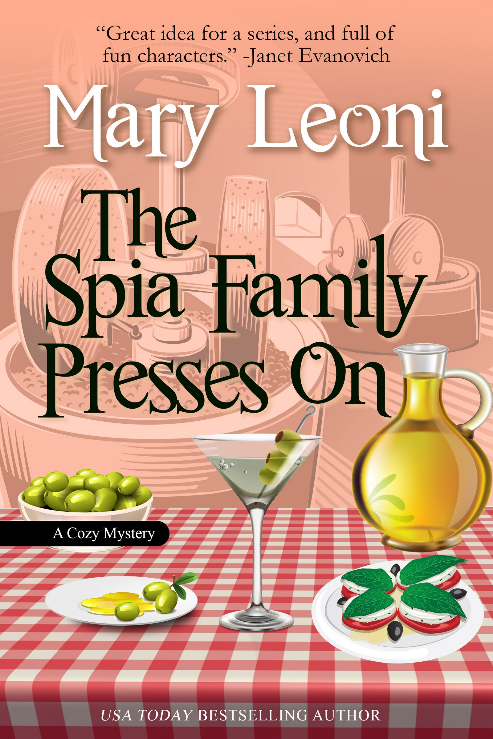 The Spia Family Presses On humorous cozy mystery